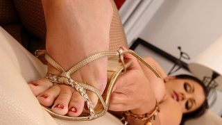 The twinkle toe strip tease! Hotlegsandfeet.com – onlinexxx.cc