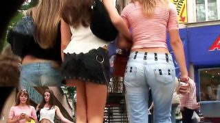 Three hot chicks and one.. Upskirtcollection.com – onlinexxx.cc