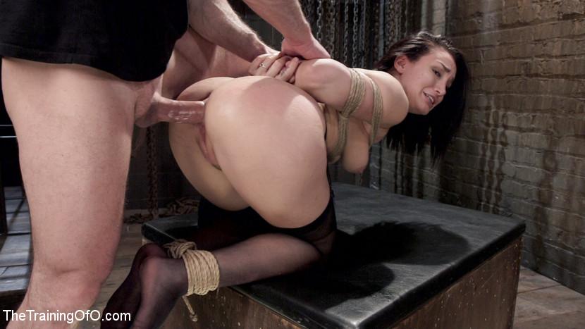 Surprise strip ass finger anal